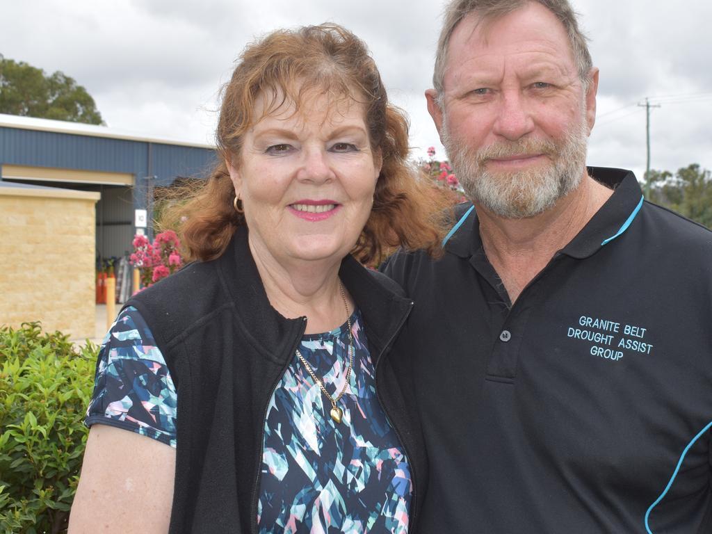 Barbara and Ian Marsden