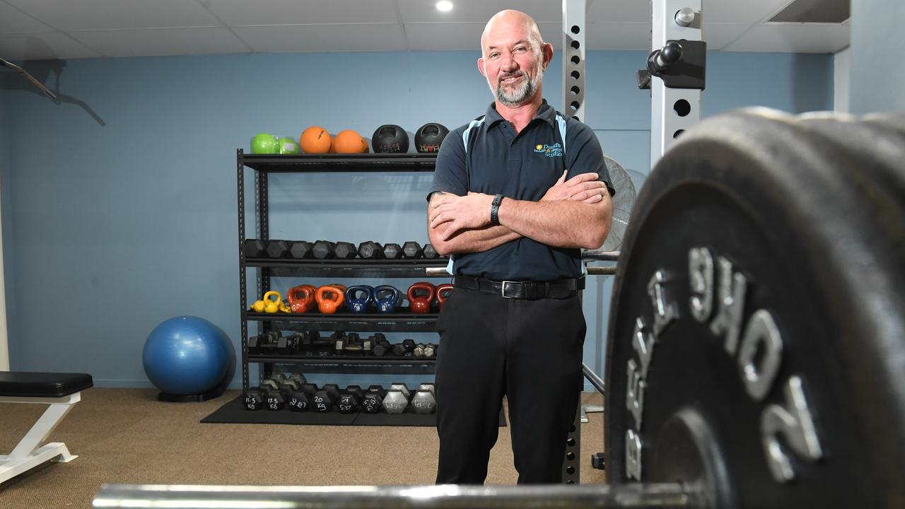 David Hoffman, 49, Lismore, from Davids Health and Lifestyle Studio who is a finalist for the 2020 Australian Fitness Awards Personal Trainer of the Year.