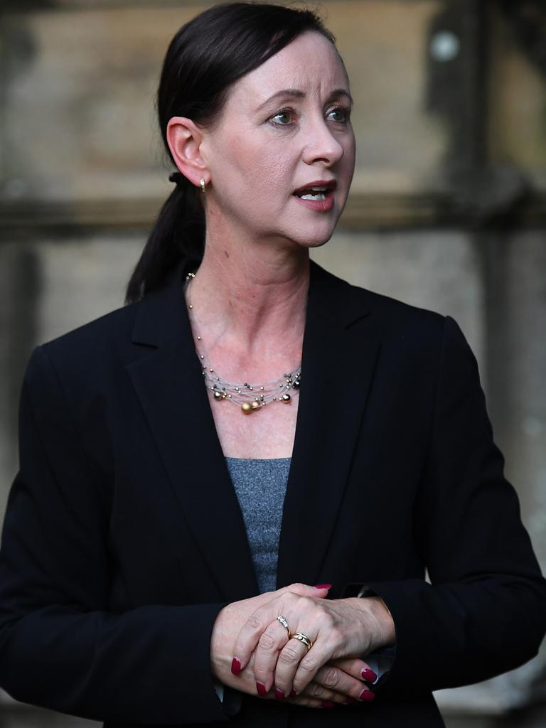 Queensland Attorney General Yvette D'Ath. (AAP Image/Dan Peled)