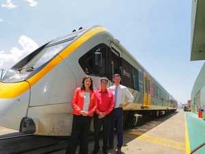 First of troubled train fleet hits milestone at Downer