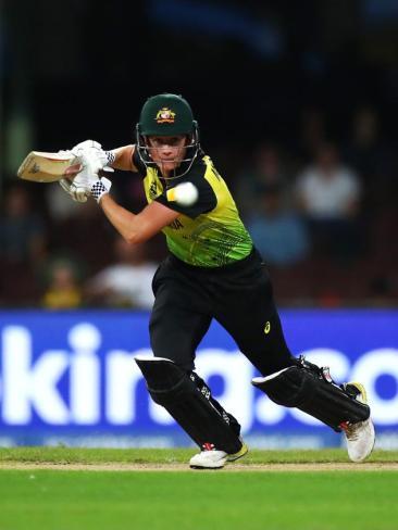 Beth Mooney got Australia off to a strong start.