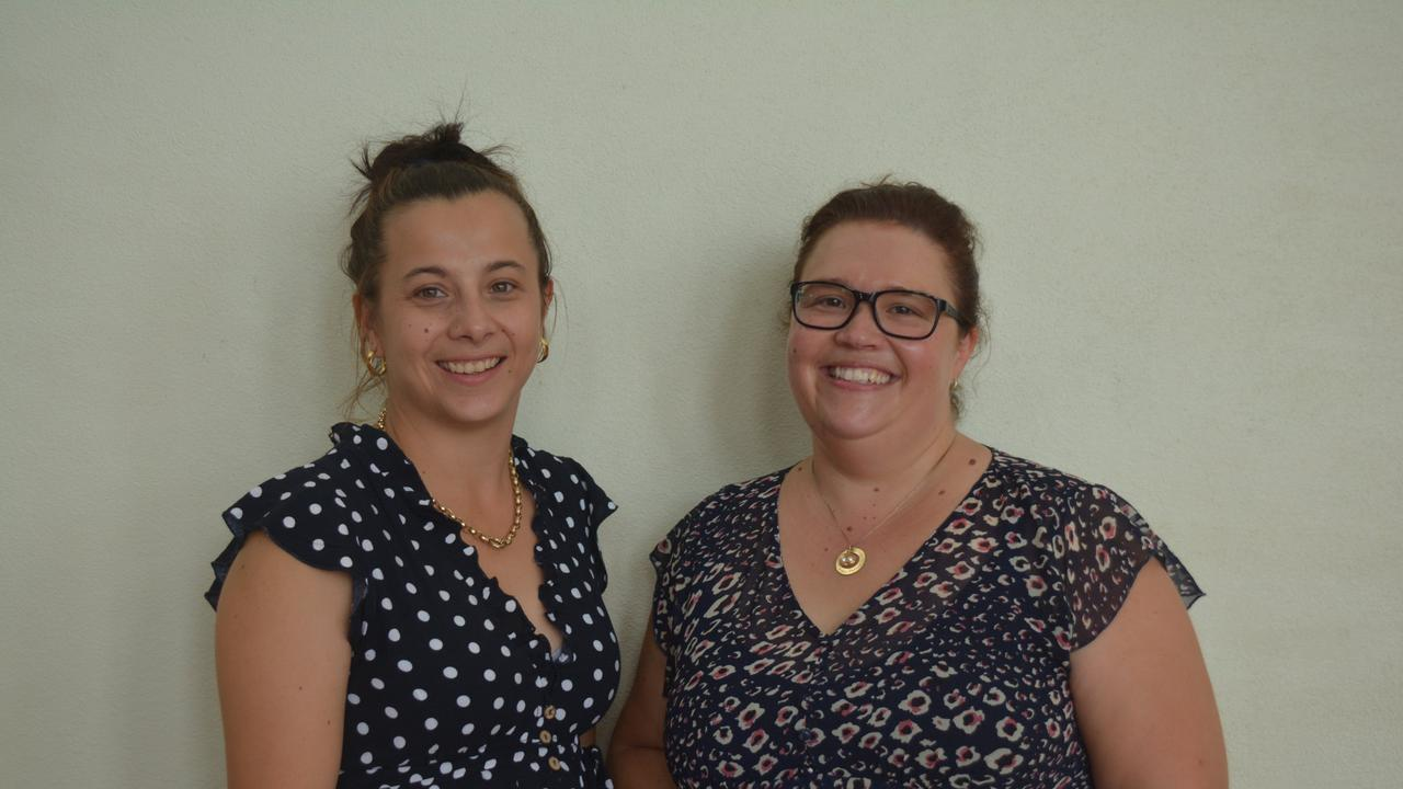 CELEBRATING WOMEN: Jess Simpkins and Jodie Black from Kumbia Kindy hosted last year's South Burnett International Women's Day Luncheon. (Photo: Madeline Grace)