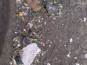 Anger over council's failure to clean up suspected asbestos