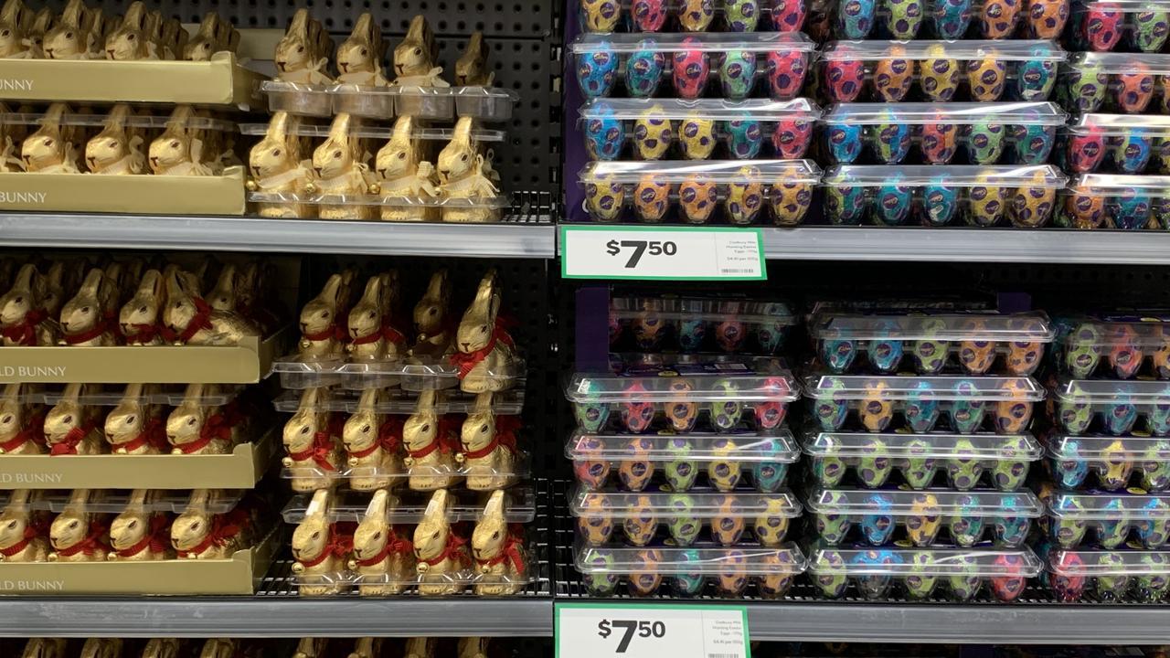 If all else fails, we can live off Lindt bunnies, Cadbury eggs …
