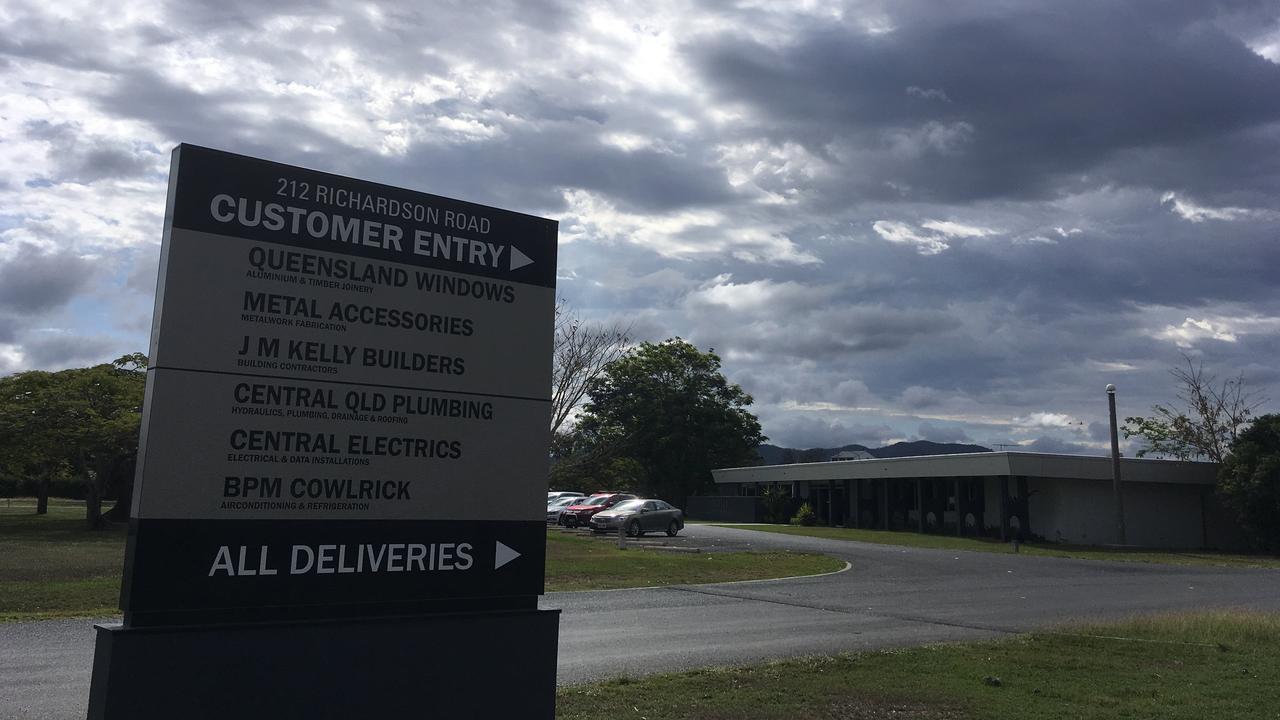 JM Kelly's headquarters in North Rockhampton.