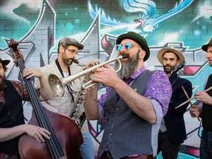 'Almost' traditional jazz band offers new fun tunes