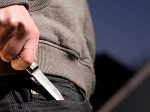 Servo staff threatened with knife in robbery