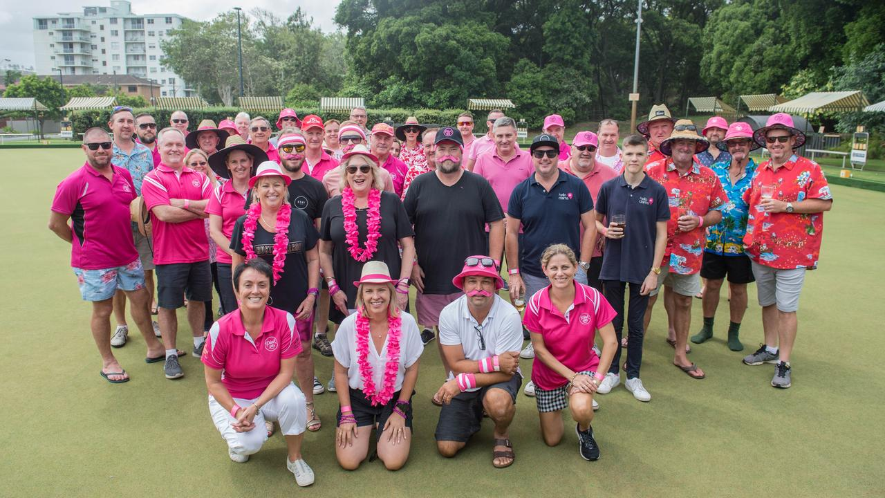 Coffs Harbour Insurance Group raised money for Pink Silks at the Park Beach Bowling Club.