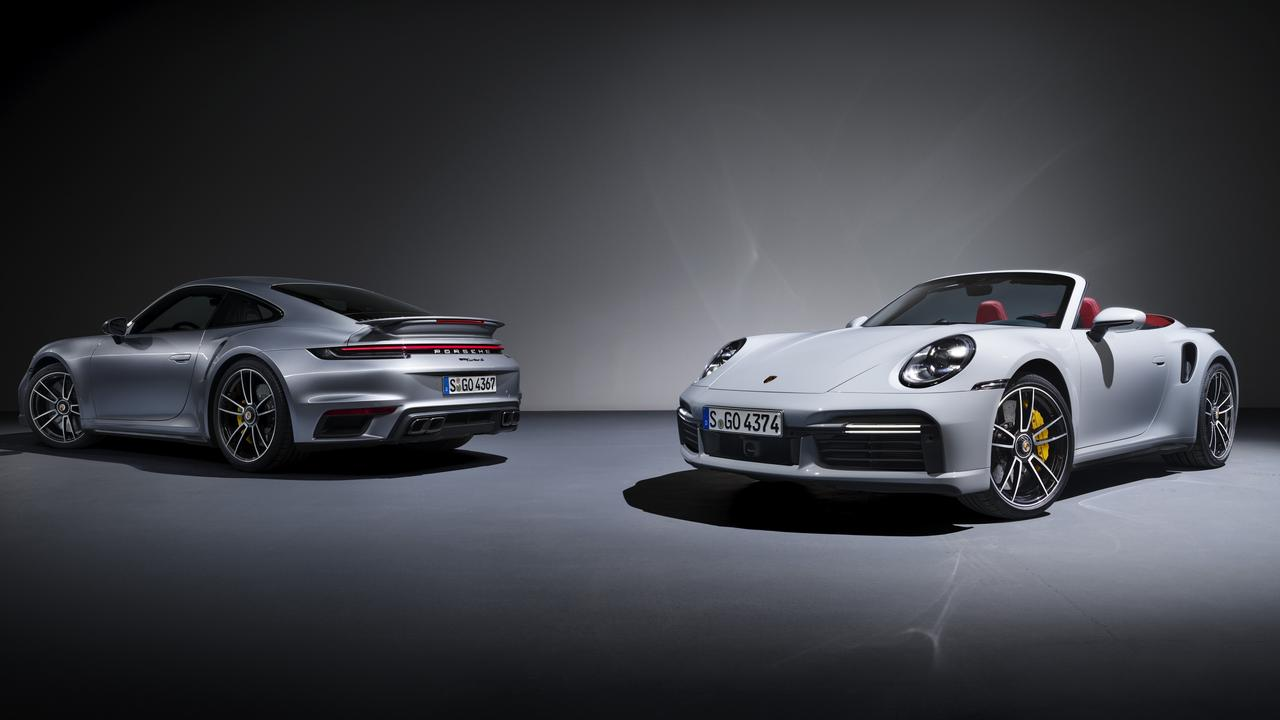 Porsche's new flagship goes like the wind.