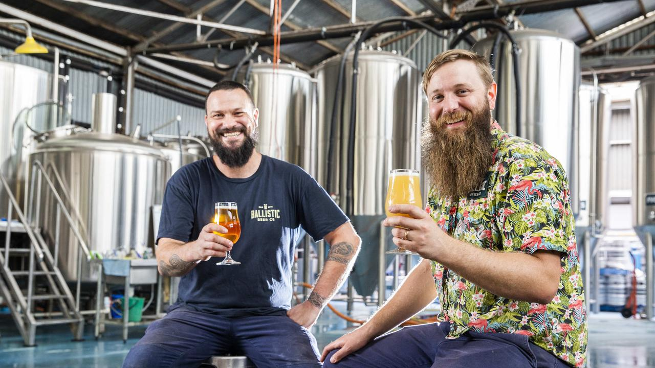 A brewery is celebrating some big wins at the prestigious Royal Queensland Food and Wine Show awards including being named the state's champion large brewery.