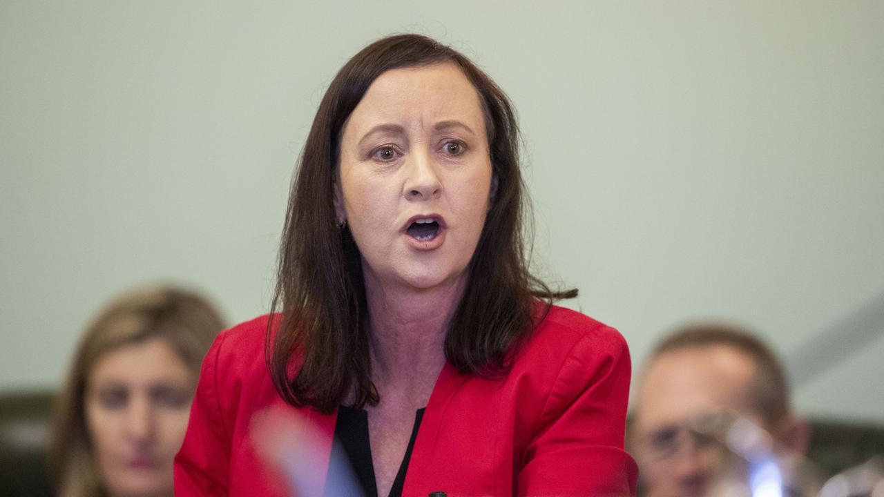 Queensland Attorney General Yvette D'Ath. (AAP Image/Glenn Hunt)