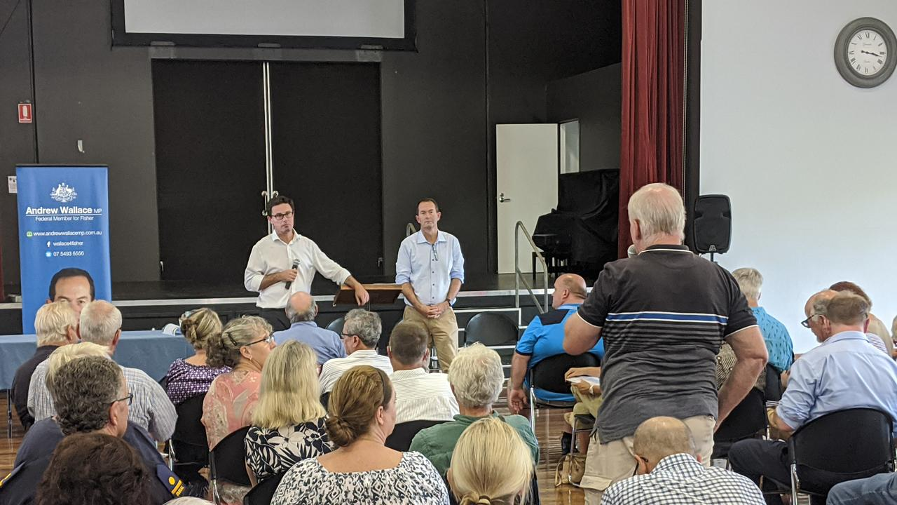 After a summer of devastating fires and drought across the state, Minister for Emergency Management David Littleproud visited the Coast to speak with locals.