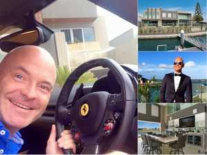 Ferrari-driving businessman's rich life before $13m collapse