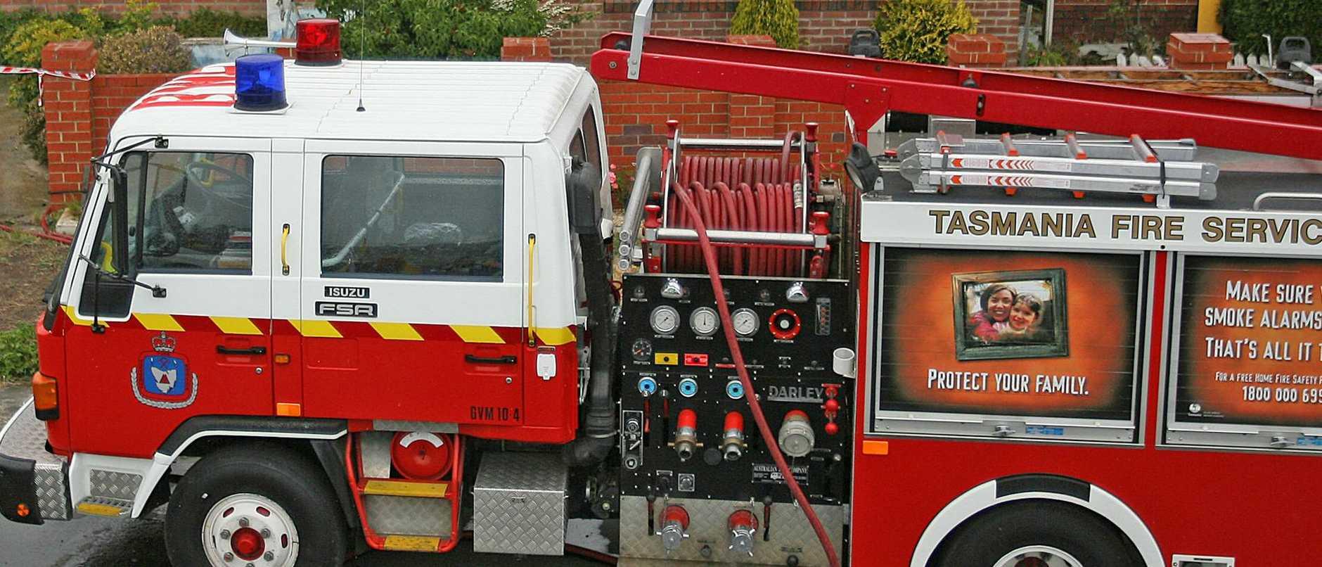 Fire truck, firetruck, file image
