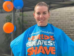 'I'm not the brave one': Officer tackles greatest shave