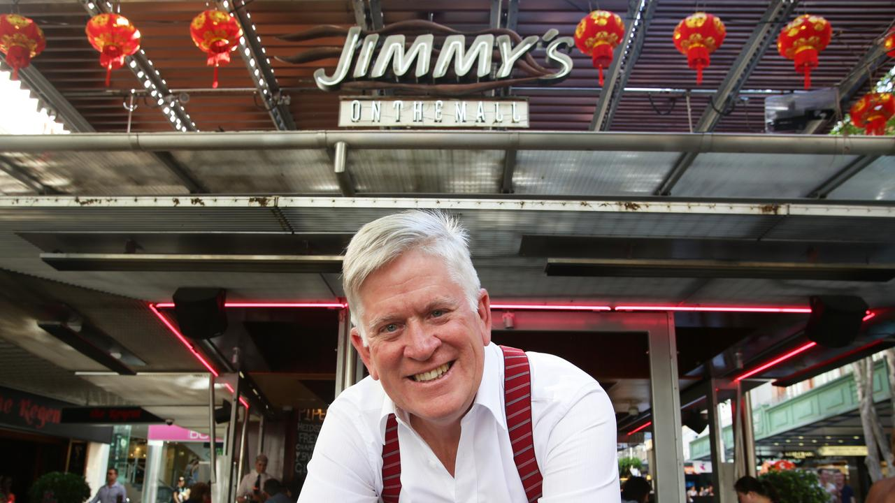 Mantle Group is owned by millionaire businessman Godfrey Mantle of the Mantle Group in front of Jimmy's in the Mall which will undergo a multi-million facelift.