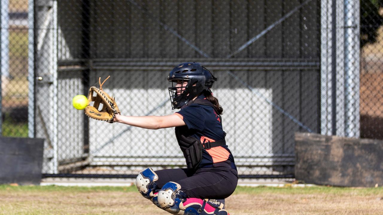 GAME ON: Rous Hotel Warriors Sharmeeka McPaul will play in catcher in Far North Coast softball at Albert Park, Lismore on Saturday. Photo: Ursula Bentley@CapturedAus