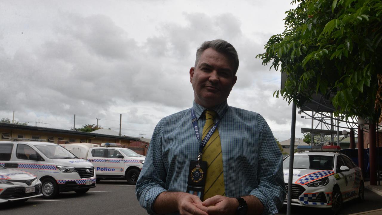 Officer in Charge of Bundaberg CIB Detective Senior Sergeant Michael Bishop.