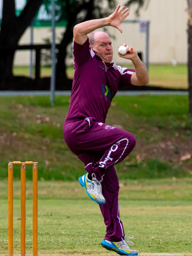 Colts spinner Andrew 'Chappy' Mallett.
