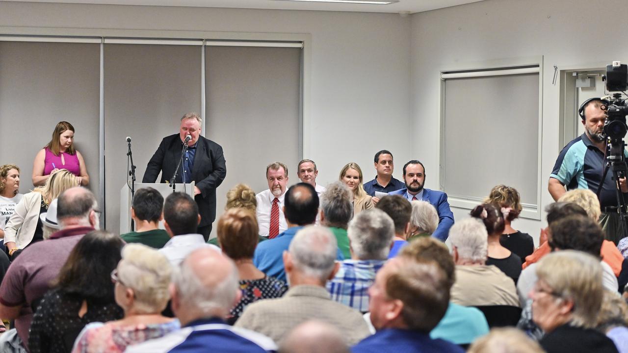 QT division 2 council candidate forum. Picture: Cordell Richardson