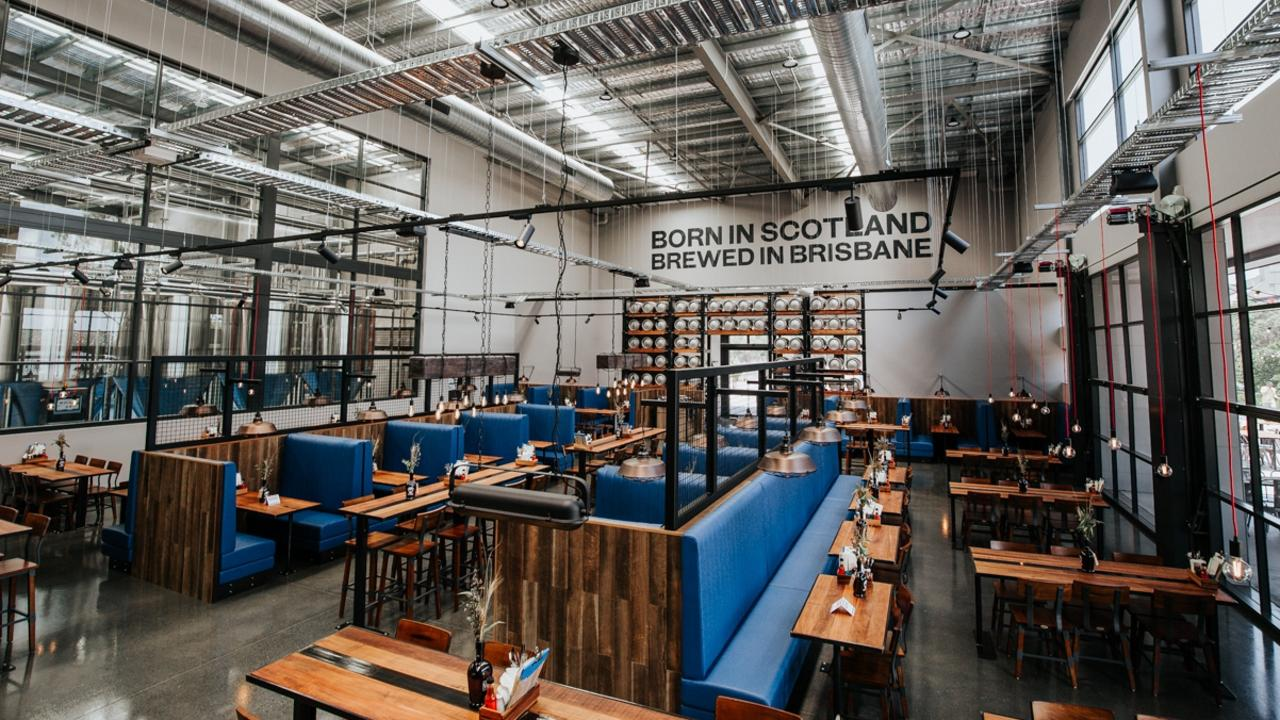 Brewery and taphouse BrewDog in Murarrie.