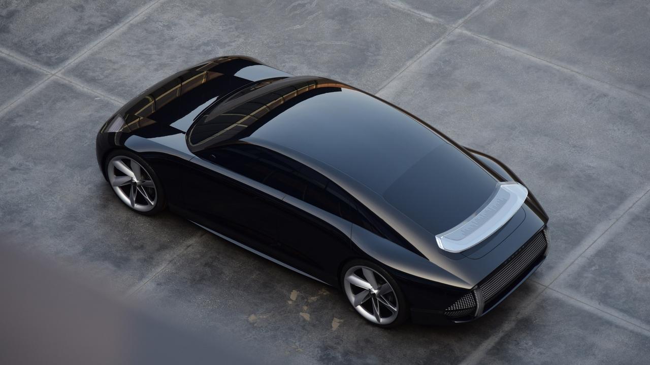 Hyundai's Prophecy concept sows off its future design language.