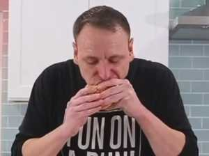 WATCH: Competitive eater demolishes 32 Big Macs