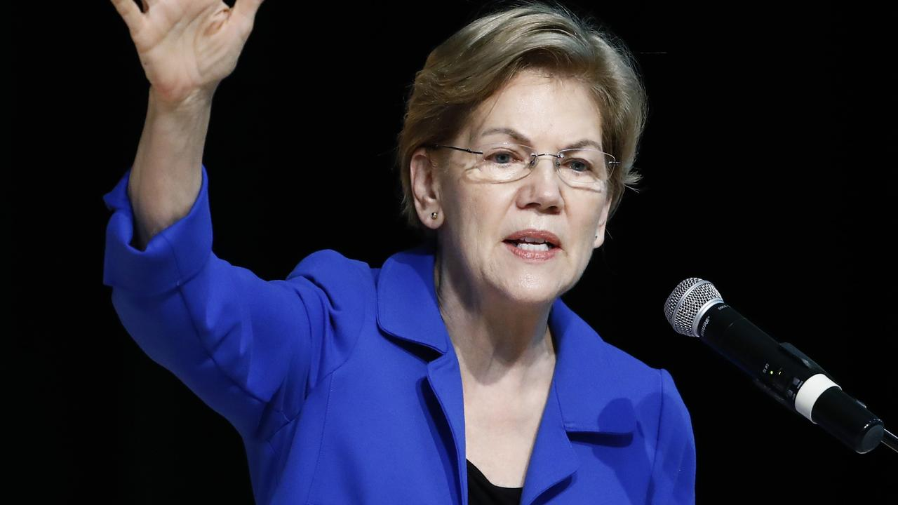 Elizabeth Warren is out. Picture: Matt Rourke/AP