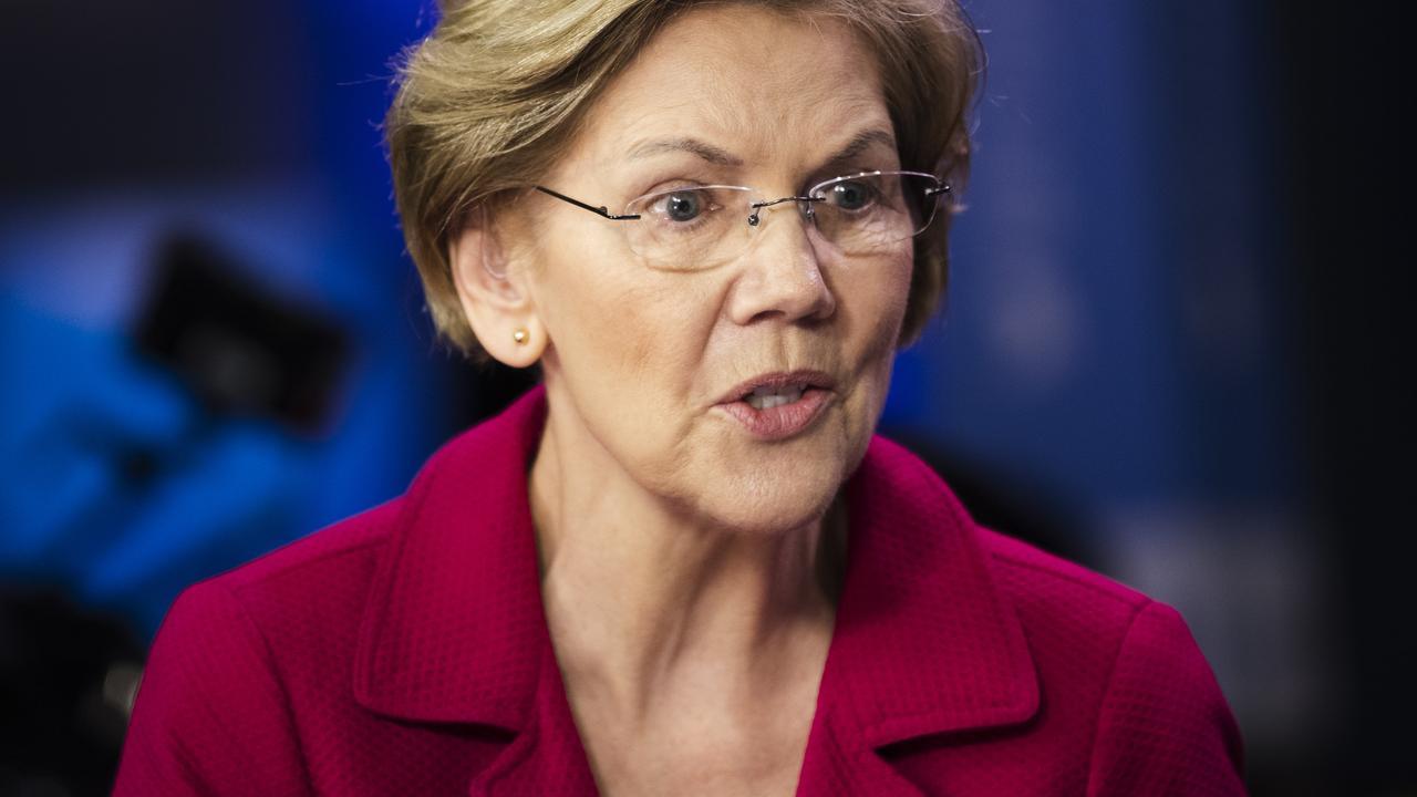 Elizabeth Warren has quit the race. Picture: Matt Rourke/AP