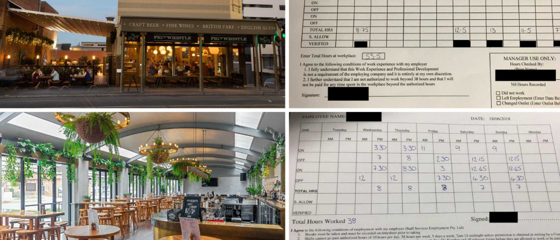 A well-known hospitality group has been accused of taking advantage of some overworked and underpaid workers, under the guise of work experience.