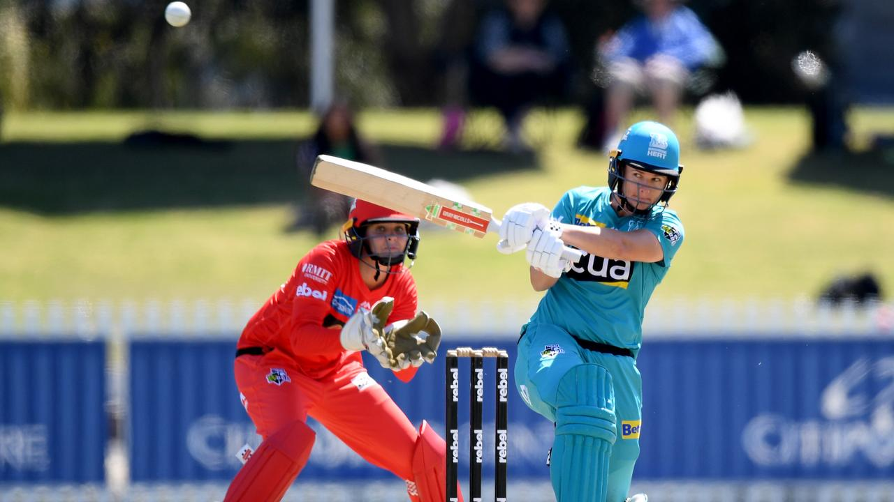Jess Jonassen was a standout for the Brisbane Heat as they claimed back-to-back WBBL titles last year. Picture: Morgan Hancock/Getty Images