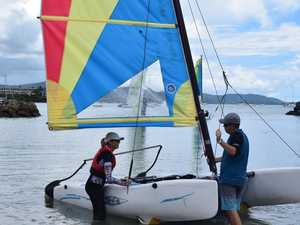 Learning to sail is fun for the whole family