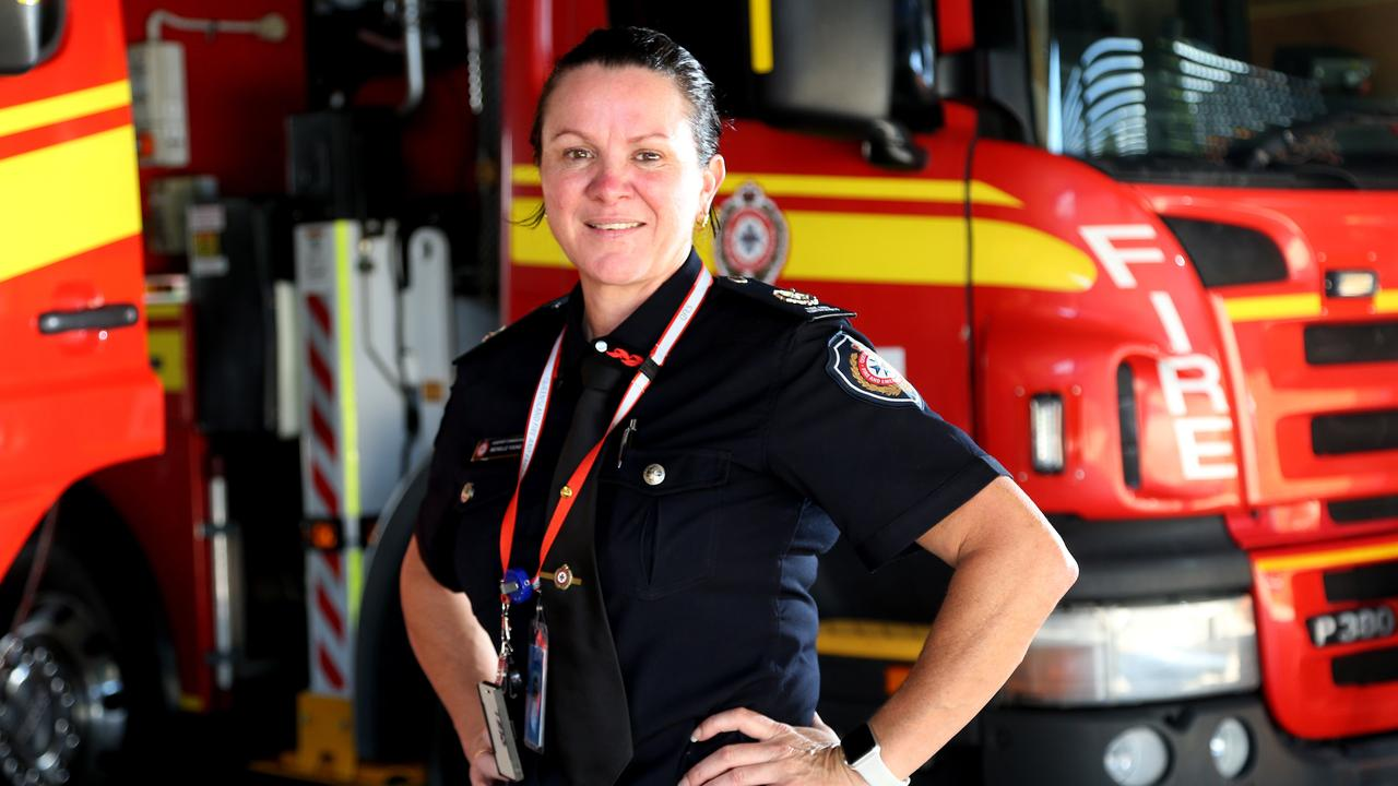 When Michelle Young became a firefighter 25 years ago stations didn't even have women's toilets. Now she's the youngest Assistant Commissioner in the state.