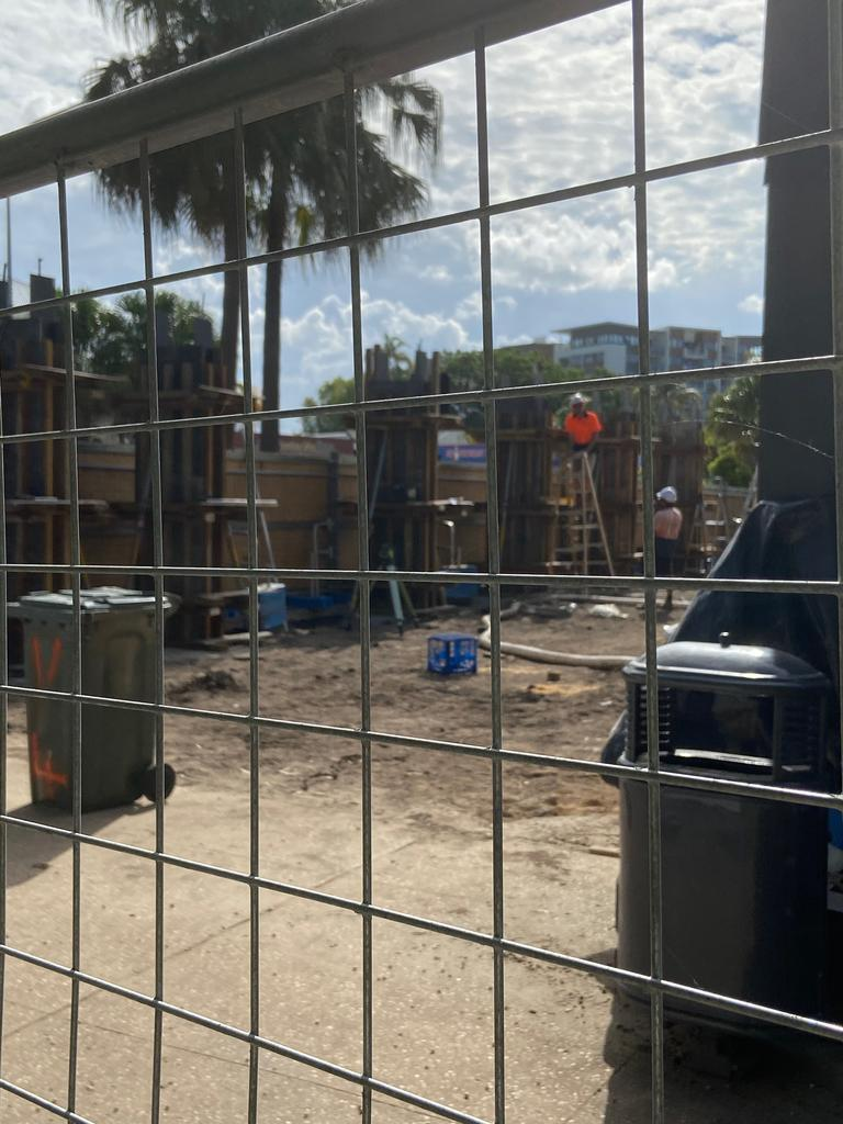Activity on the Duporth Tavern's major renovations while investigations have been launched into complaints conditions of its development approval had been breached