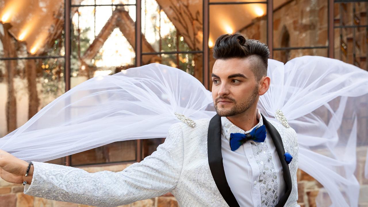 Caped crusader: Jayden Brown, Sunshine Coast Wedding Photographer Ben Connolly