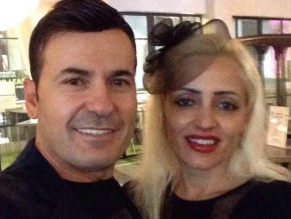 Petrit Lekaj and his wife had a volitile marriage. Picture Facebook