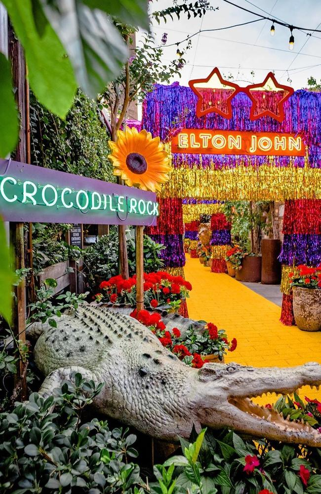The Elton John pop-up store at The Grounds in Alexandria. Piucture: Supplied.