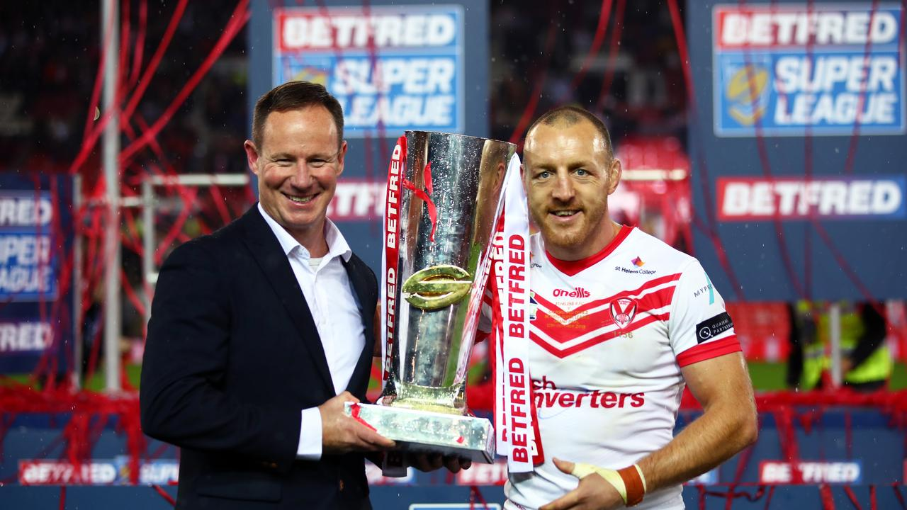 Holbrook's St Helens team was the most dominant in Super League history. Photo by Clive Brunskill/Getty Images.