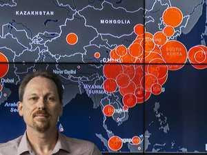 Australia's coronavirus contagion war room