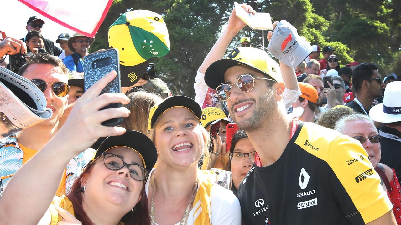 Australia's Daniel Ricciardo is keen to make a promising start to the new season.