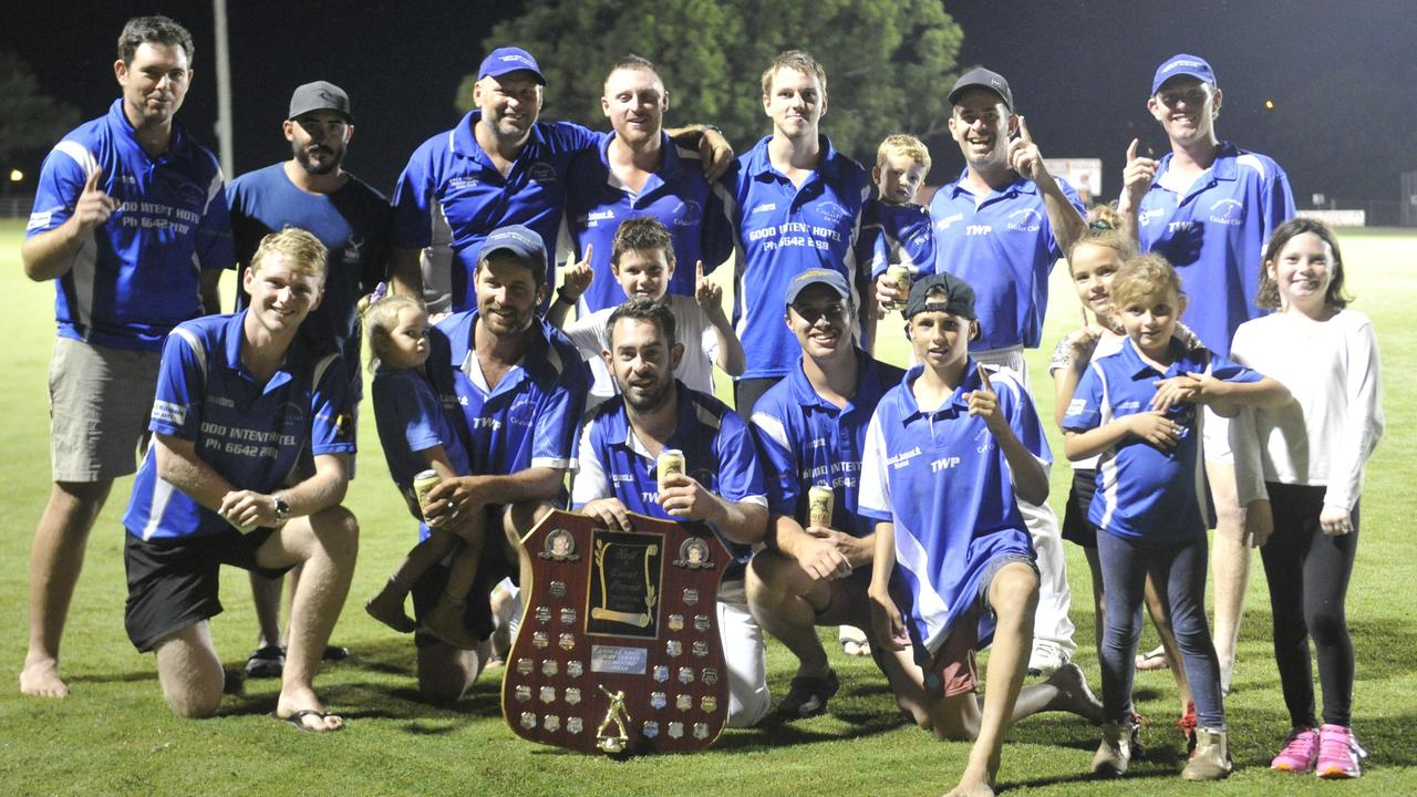 Tucabia-Copmanhurst, 2020 CRCA Cleaver's Mechanical Night Cricket grand final winners against Brothers Clocktower at McKittrick Park on Friday, March 6, 2020. Photo: Mitchell Keenan