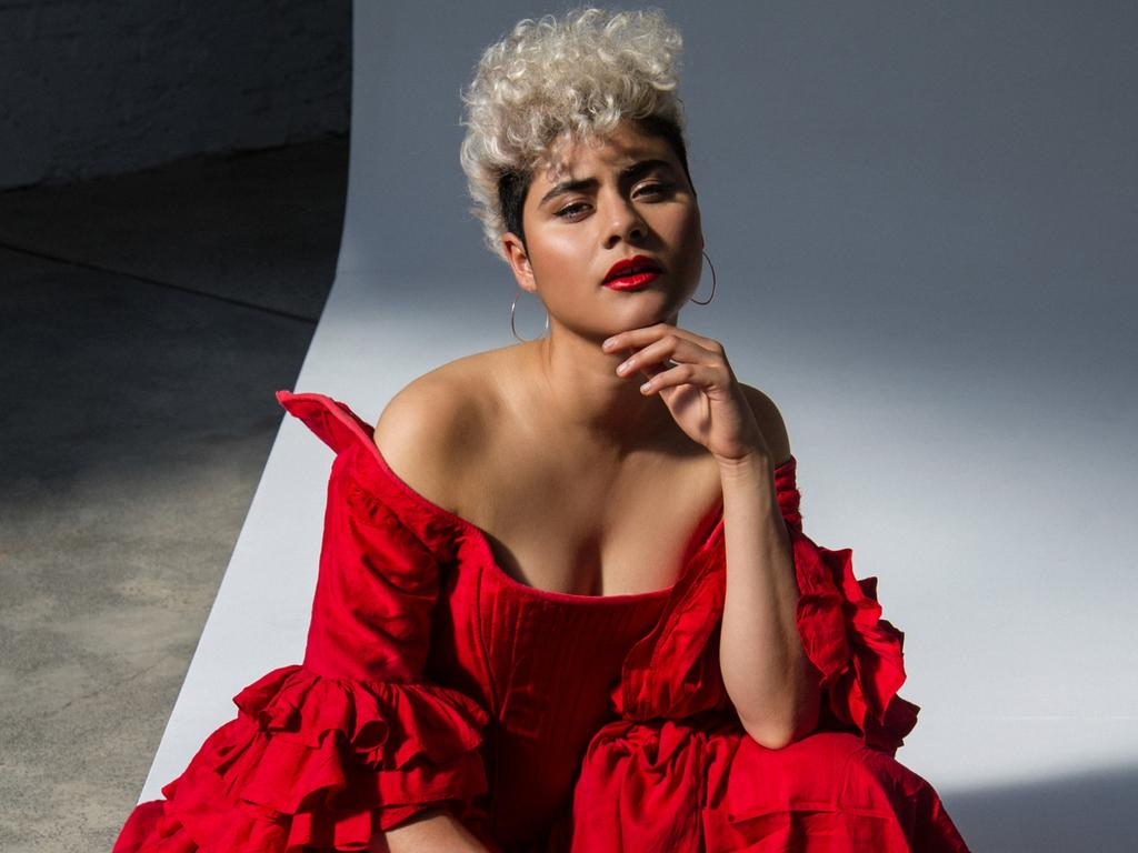 Australia's Eurovision 2020 entrant Montaigne. Picture: Supplied.