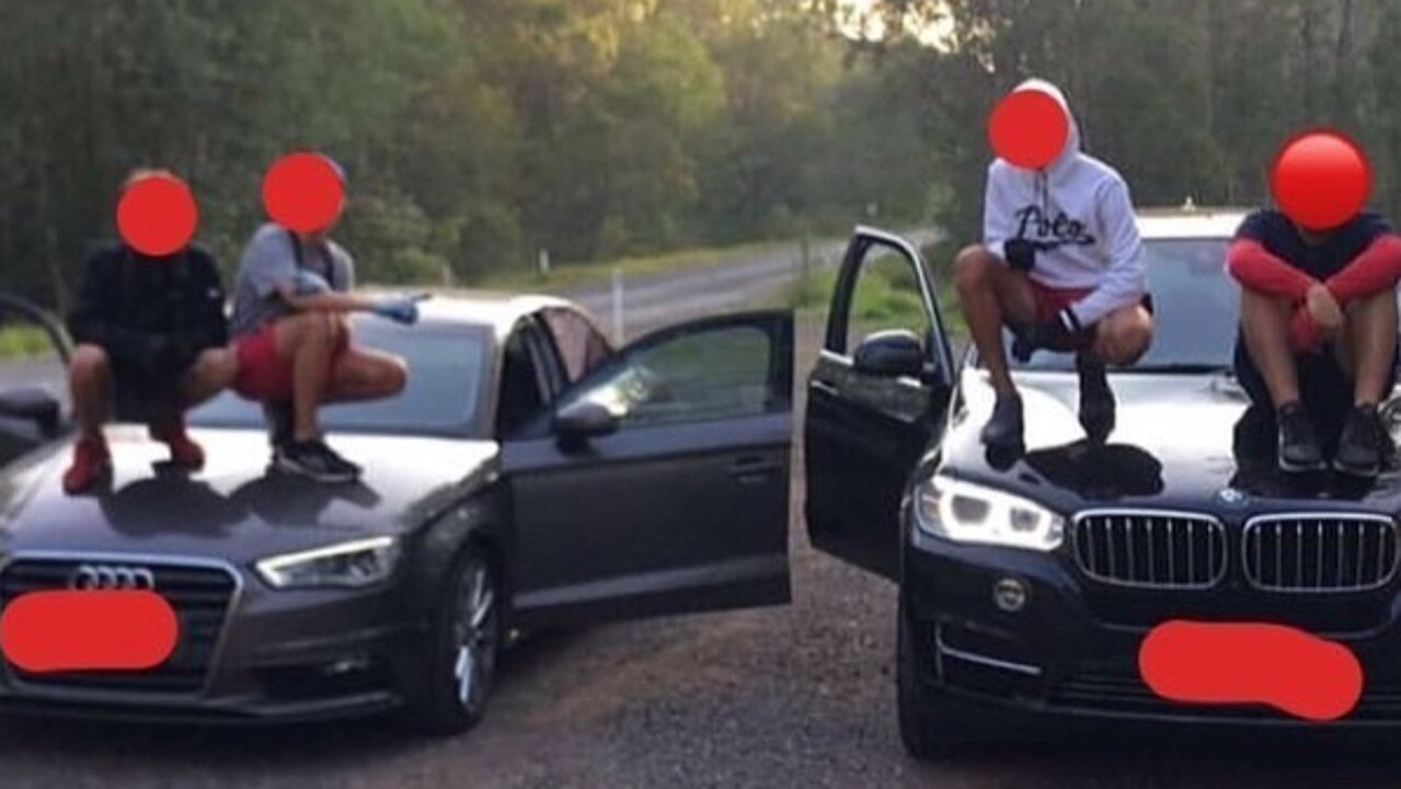 Queensland's young criminals love to showcase their crimes on social media.