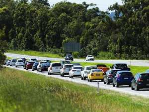 Bruce Hwy crash as wet weather creates traffic delays