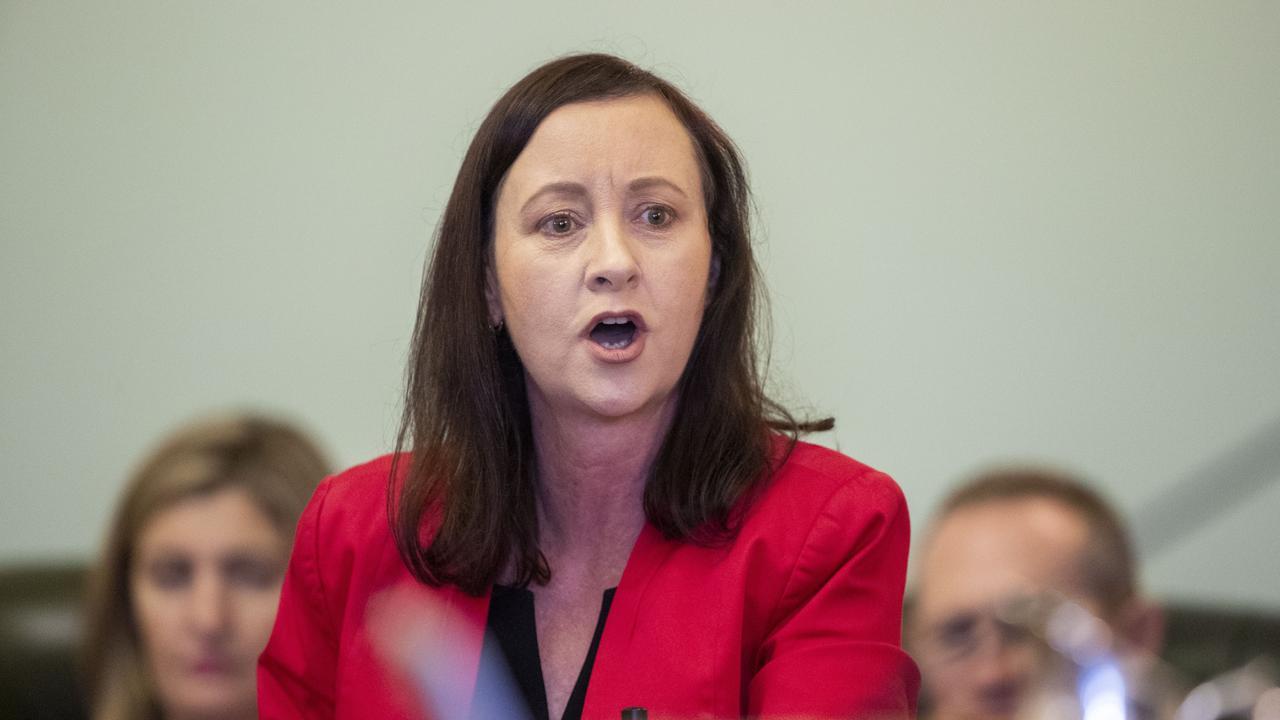 Queensland Attorney General Yvette D'Ath.