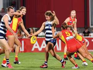 Cats claim first AFLW victory in Mackay