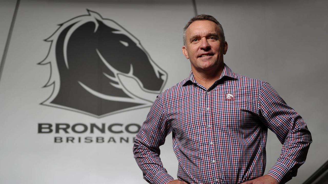 Broncos CEO Paul White wants some big improvement on a disappointing 2019. Picture: Peter Wallis