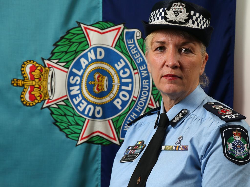 Queensland Police Commissioner Katarina Carroll. Picture: David Clark/AAP