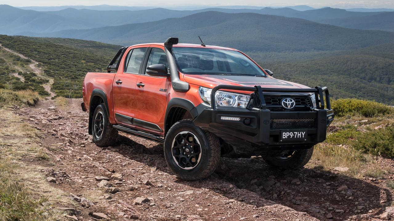 The HiLux is the ultimate all-rounder.