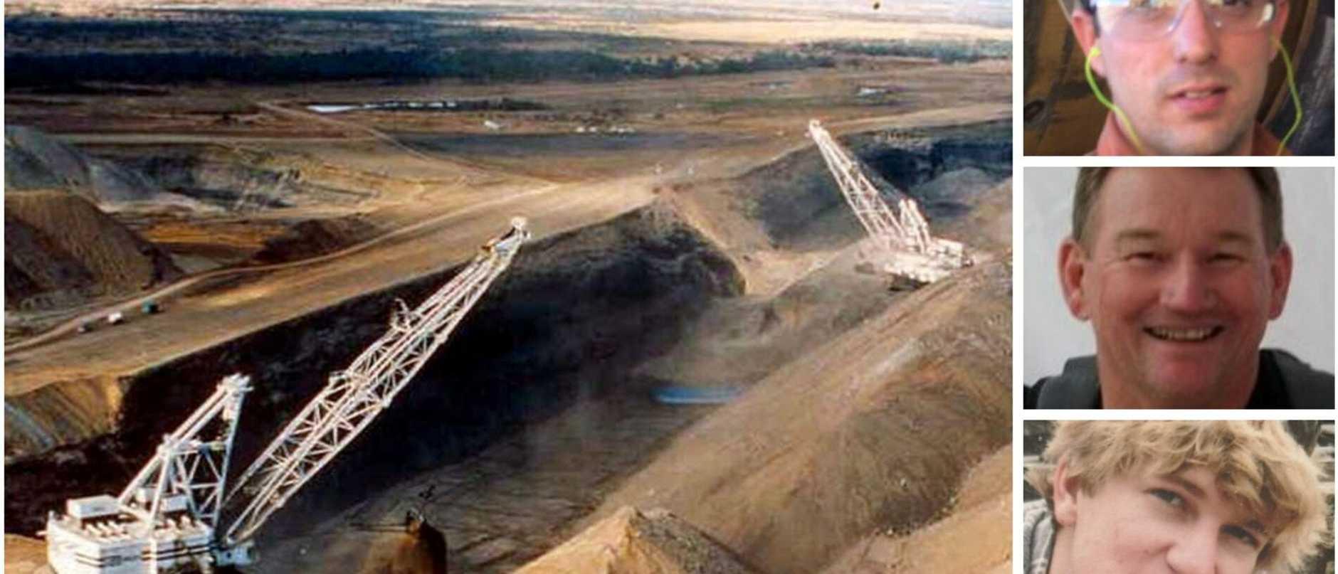 Queensland mining deaths splash art